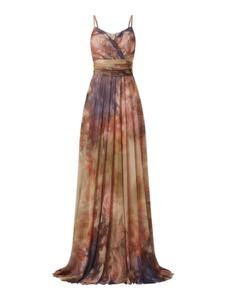 Sukienka Troyden Collection na ramiączkach maxi z dekoltem w kształcie litery v