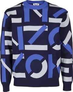 Sweter Kenzo z wełny z okrągłym dekoltem