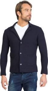 Granatowy sweter Sir Raymond Tailor
