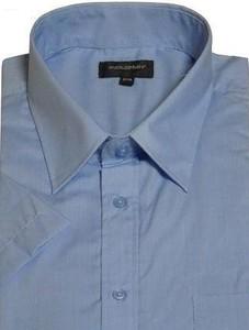Niebieska koszula Cotton Valley z krótkim rękawem