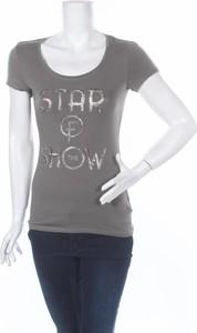 T-shirt House Of Luxury z krótkim rękawem z okrągłym dekoltem w młodzieżowym stylu
