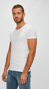 T-shirt Guess Jeans z krótkim rękawem z dzianiny