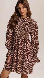 Brązowa sukienka Renee