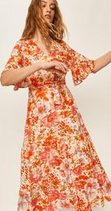 Sukienka Answear z tkaniny w stylu boho
