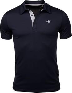 Koszulka polo 4F z krótkim rękawem w sportowym stylu