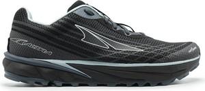 Czarne buty sportowe Altra sznurowane w sportowym stylu z płaską podeszwą