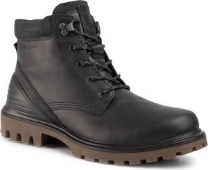 Czarne buty zimowe Ecco