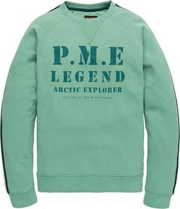 Zielona bluza Pme Legend z bawełny w młodzieżowym stylu