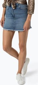 Spódnica NA-KD z jeansu mini