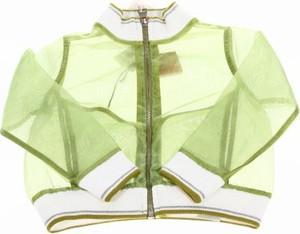 Zielona kurtka dziecięca Jijil dla dziewczynek