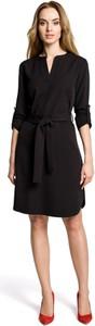 Sukienka Made Of Emotion z dekoltem w kształcie litery v mini