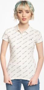 T-shirt Tommy Hilfiger z bawełny z okrągłym dekoltem