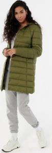 Zielony płaszcz Outhorn w stylu casual