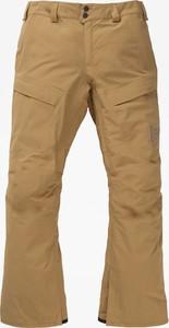 Brązowe spodnie sportowe Burton