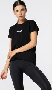 Czarna bluzka Carpatree w sportowym stylu