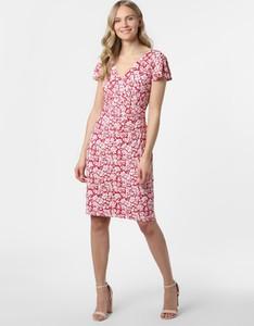Sukienka Ralph Lauren z krótkim rękawem midi
