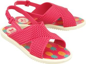 Buty dziecięce letnie Zaxy z klamrami