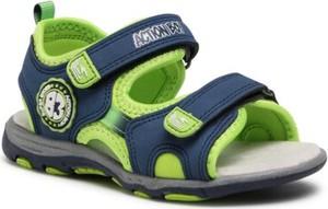 Buty dziecięce letnie Action Boy na rzepy dla chłopców