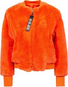 Pomarańczowa kurtka Freaky Nation w stylu casual krótka