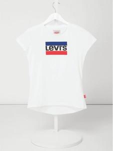 Bluzka dziecięca Levis Kids z bawełny