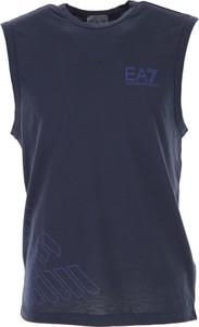 Emporio Armani Podkoszulek dla Mężczyzn Na Wyprzedaży, Blue Marine, polyester, 2017, L XL
