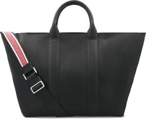 Czarna torebka Calvin Klein do ręki duża
