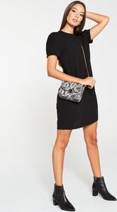 Sukienka V by Very z okrągłym dekoltem z krótkim rękawem ołówkowa