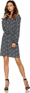 Sukienka Lemoniade z dekoltem w kształcie litery v z długim rękawem