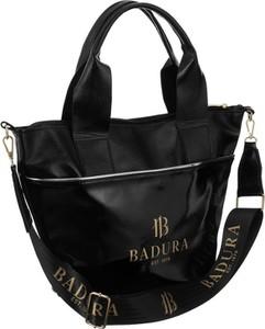 Czarna torebka Badura duża