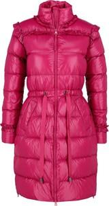 Czerwona kurtka Twinset w stylu casual długa