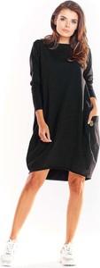 Sukienka Infinite You z długim rękawem z bawełny oversize