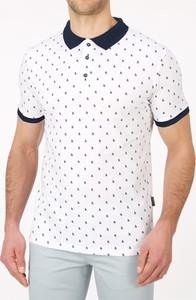 Koszulka polo Lanieri Fashion z dzianiny z krótkim rękawem