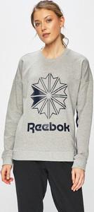 Bluza Reebok Classic z bawełny w młodzieżowym stylu z nadrukiem