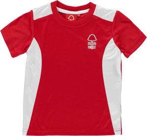 Czerwona koszulka dziecięca Source Lab