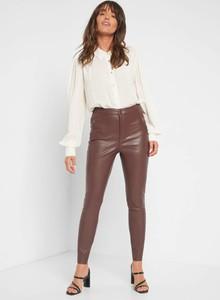 Spodnie ORSAY w rockowym stylu ze skóry ekologicznej