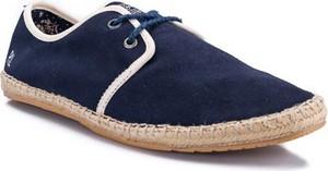Granatowe buty letnie męskie Pepe Jeans