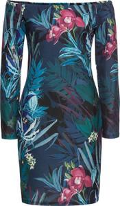 Sukienka bonprix BODYFLIRT boutique z długim rękawem mini