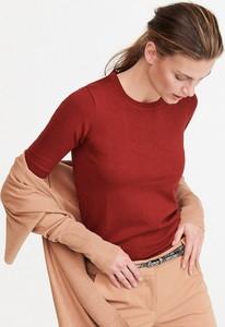 Czerwony sweter Reserved