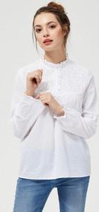 T-shirt Moodo z długim rękawem z bawełny