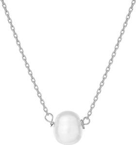 ANIA KRUK Naszyjnik ARIEL srebrny z naturalną perłą
