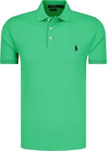 Zielone koszulki polo męskie wyprzedaż, kolekcja lato 2020