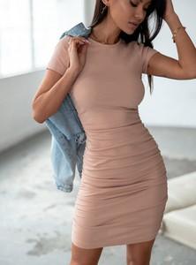 Sukienka SELFIEROOM w stylu casual z długim rękawem mini
