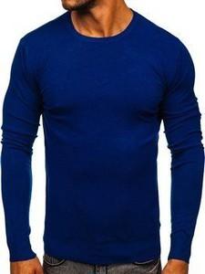 Niebieski sweter Denley w stylu casual