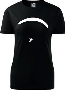 T-shirt TopKoszulki.pl z okrągłym dekoltem z krótkim rękawem