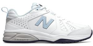 Buty sportowe New Balance ze skóry z płaską podeszwą sznurowane