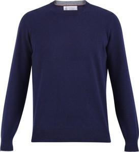 Niebieski sweter Brunello Cucinelli