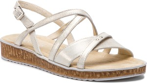 72a51294b9b0f sandały rzymianki na koturnie - stylowo i modnie z Allani