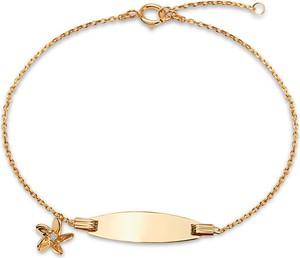YES Mini - złota bransoletka