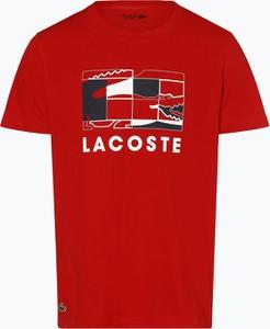 T-shirt Lacoste z dżerseju z krótkim rękawem