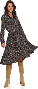 Sukienka Top Secret w stylu casual koszulowa midi